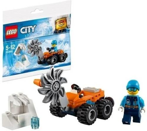 lego city expedicion al artico con vehiculo + libro nº 6