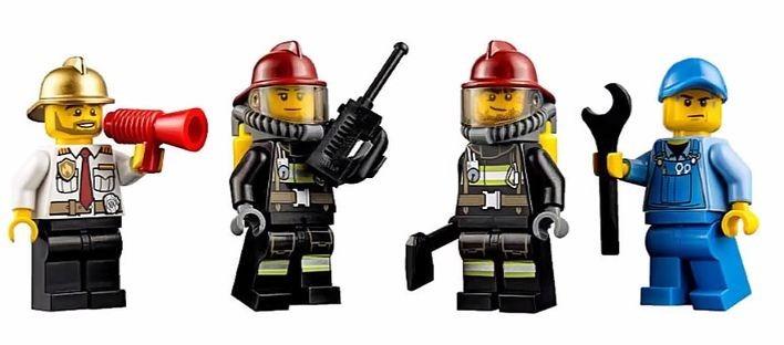 Lego City Fire Starter Set Bomberos 60088  Giro Didctico   699
