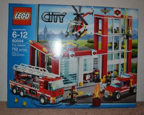 lego city fire station modelo 60004