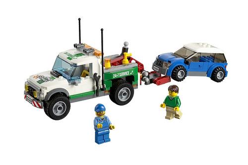 lego city grandes vehiculos grua especial de vehiculos