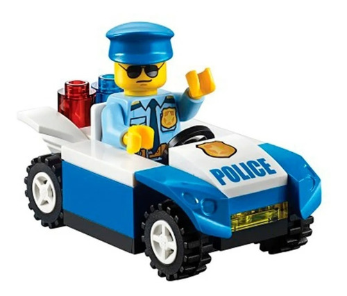 lego city + libro policia de transito 30339