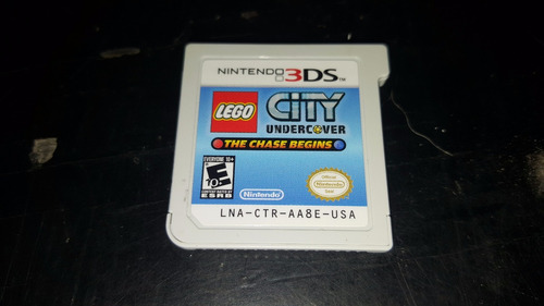 lego city nintendo 3ds usado . cambios gamer ..
