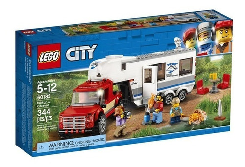 lego® city - pickup caravan
