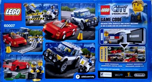 lego city police alta velocidad persecución 60007