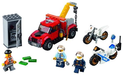 lego city police tow truck trouble 60137 construcción de ju