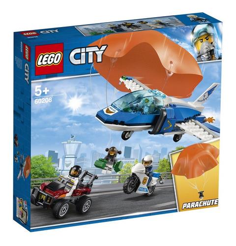 lego city policia aerea detencao de paraquedas