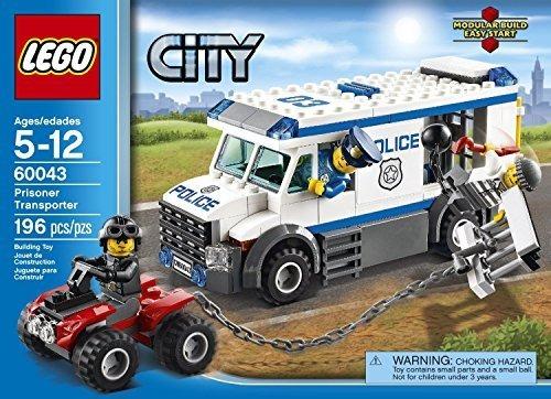 lego police van instructions 60043