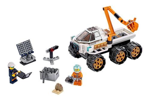 lego city: prueba de conduccion del rover