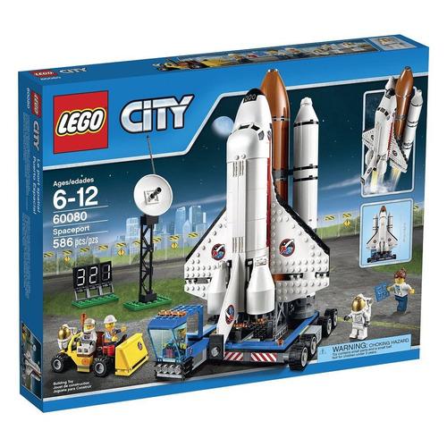 lego city set construccion puerto espacial 60080