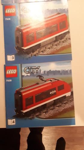 lego city set trenes 7938