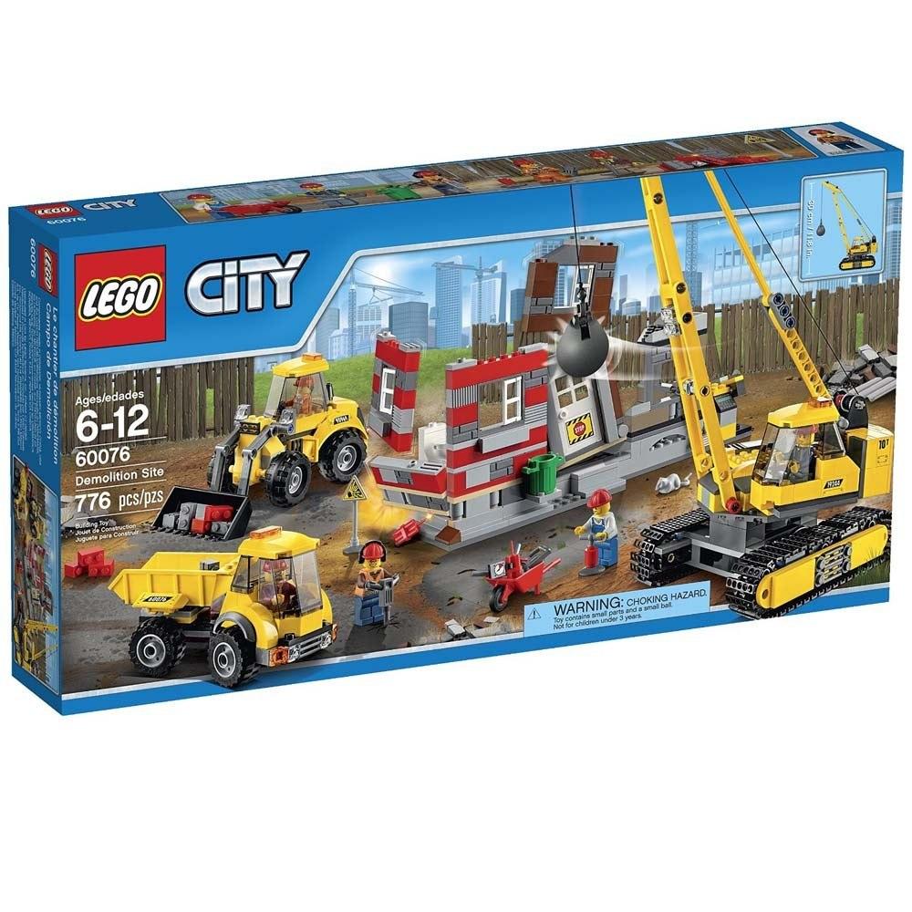 Lego City Solar De Demolicion Nino Ninos Armar Juguete 744 860