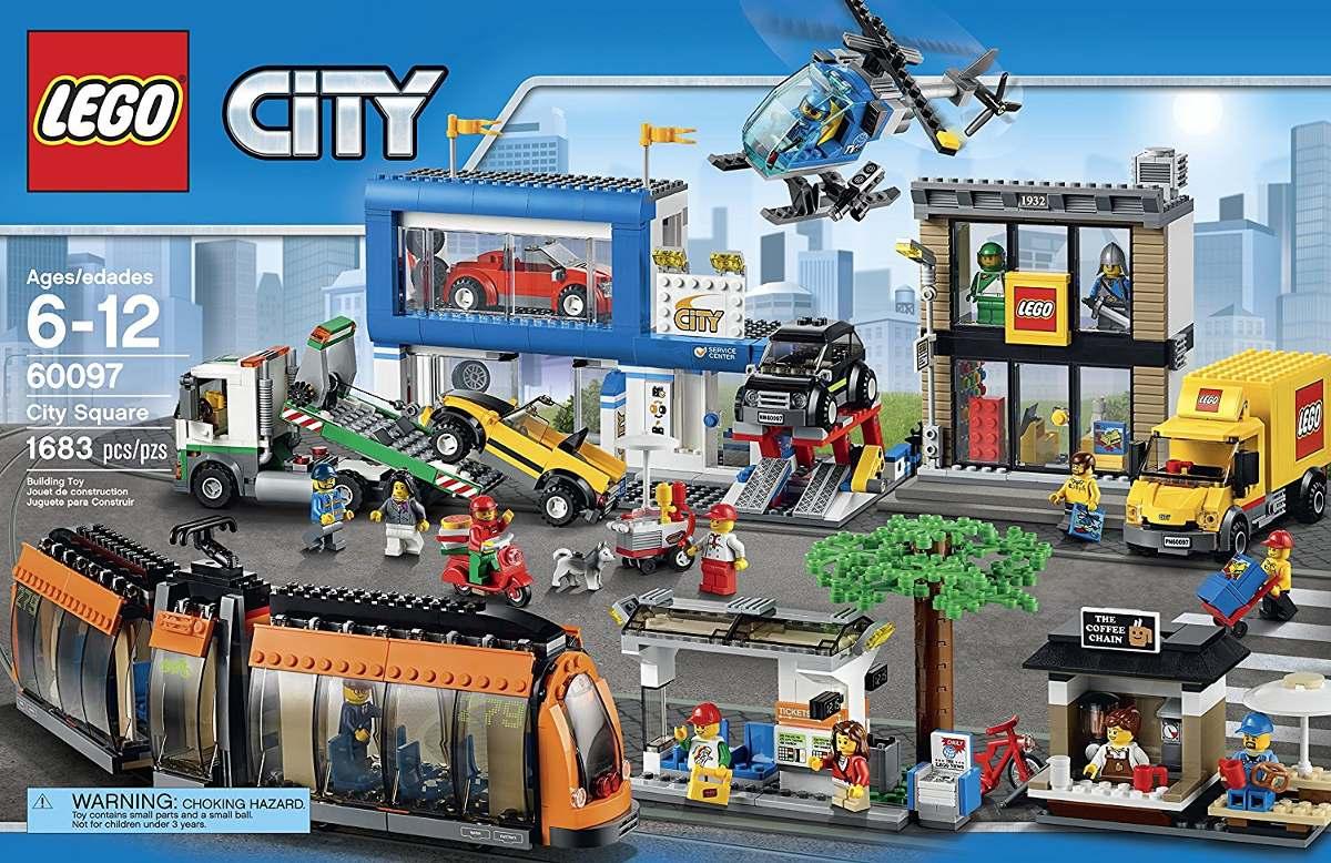Lego City Town 60097 Kit De Edificios Para Armar Juguete 999 900