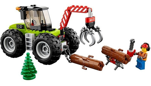 lego ® city - tractor forestal