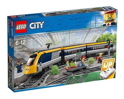 lego city trains tren de pasajeros 60197
