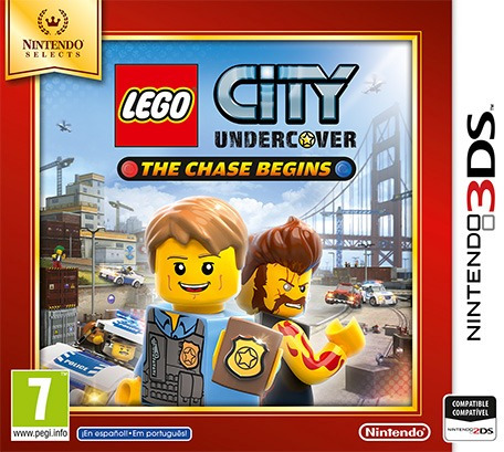 lego city undercover 3ds usado