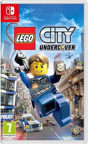 lego city undercover nintendo switch original físico sellado