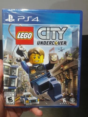 lego city undercover ps4 juego fisico original playstation 4