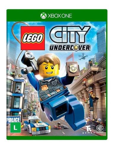 lego city undercover xbox one em português mídia física