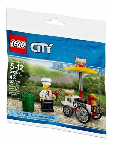 lego city vendedor panchos con vehiculo + cuento regalo nº 4