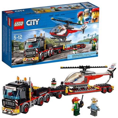lego ciudad great vehículos transporte carga pesado 60183 e