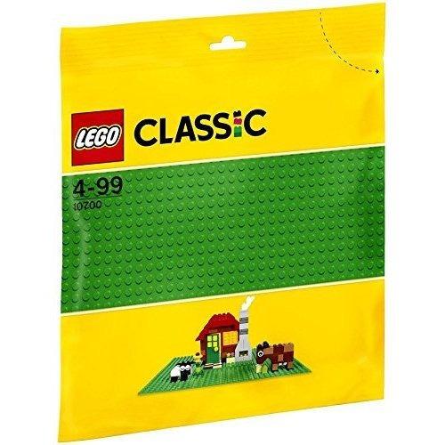 lego clásico verde placa base suplemento