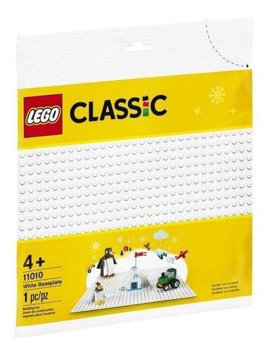 lego classic 11010 - base de construção branca