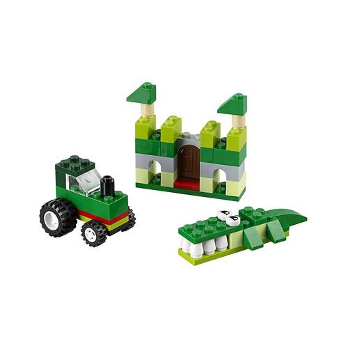 lego classic - caixa de criatividade verde - 66 peças