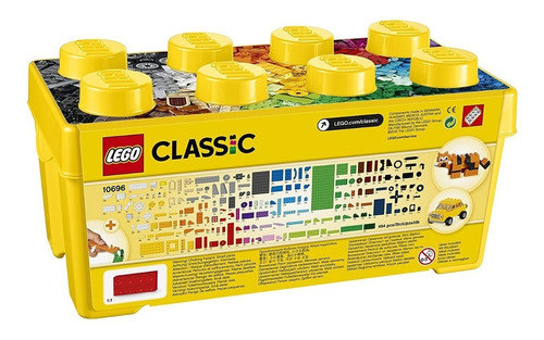 lego classic modelo 10696 de 4-99 años