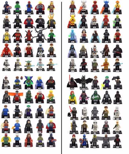 lego compativel star wars vingadores super herois marvel