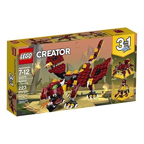 lego creador 3 en 1 criaturas míticas kit de construcción