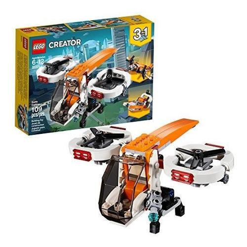 lego creador 3 en 1 drone explorador 31071 kit de