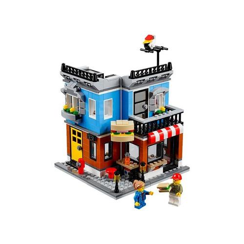 lego creator 3 em 1 mercearia lanchonete sanduíche 31050