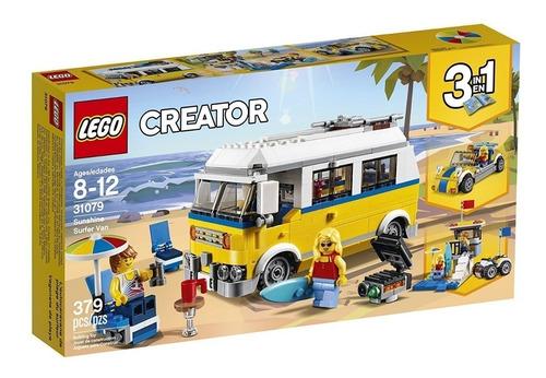 lego creator 3 en 1 379 piezas modelo 31079 original