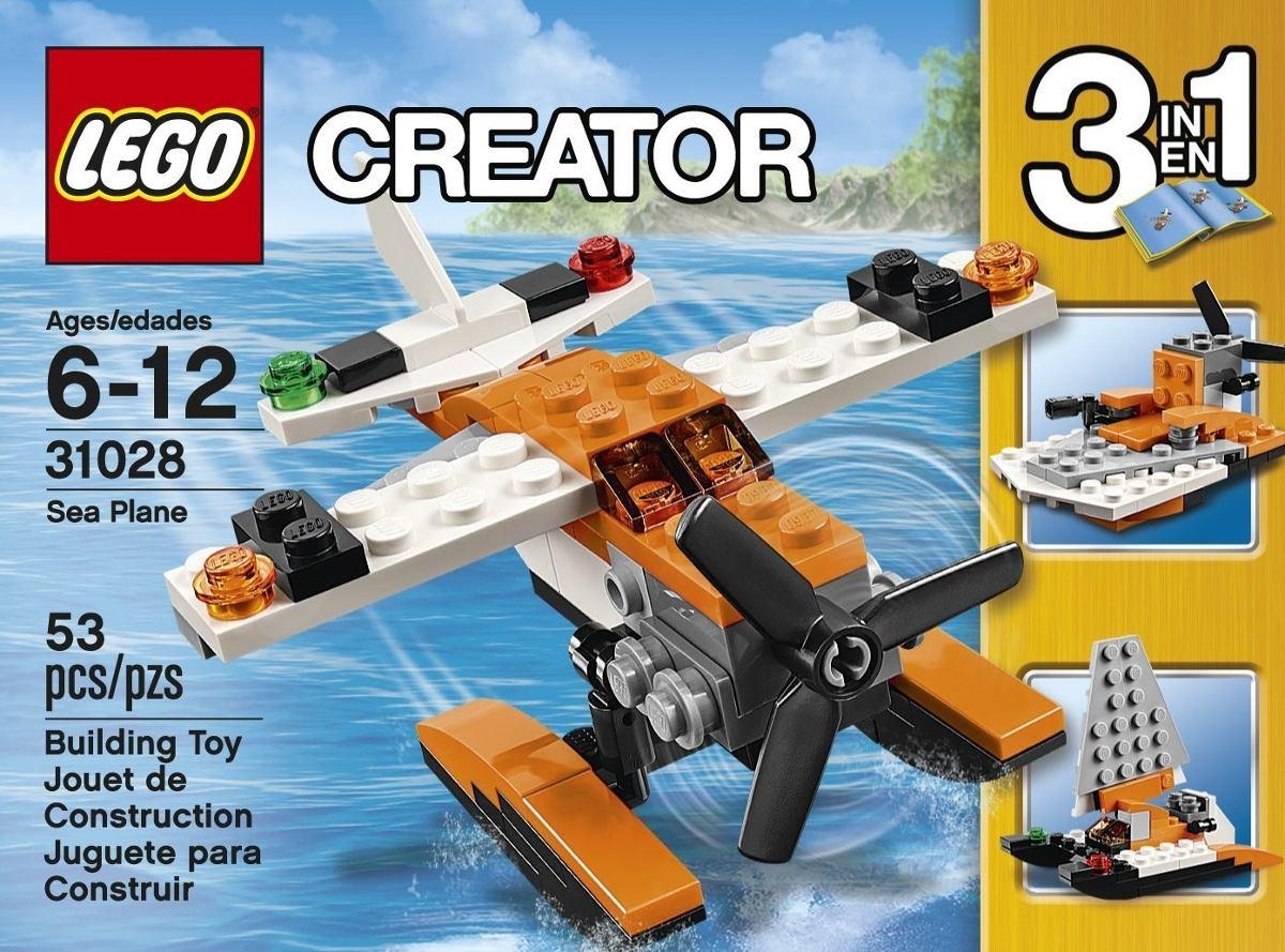 Creator 1 Nuevo 31028 En 3 E Lego Blakhelmet Sea Plane nZPN80wkXO