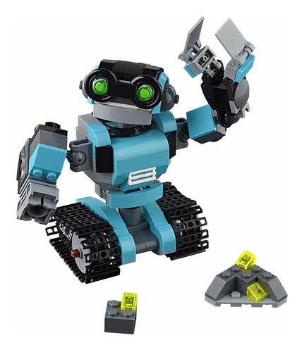 lego creator 31062 robô com luz 3 em 1 - *pode retirar*