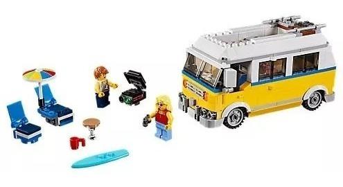 lego creator 31079- furgoneta de playa