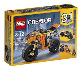 Mundo Creator Moto 3en1 Lego Callejera Manias 31059 Gran OPuTkwXiZ