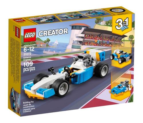 lego creator 3en1 31072 vehiculos motores extremos manias