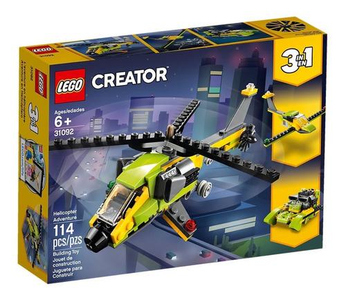 lego creator 3en1 31092 aventura en helicoptero mundo manias
