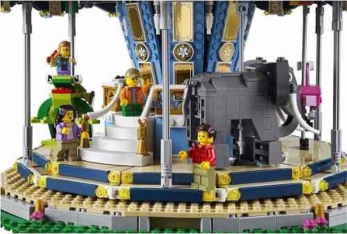 lego creator - carrossel 10257 +  power functions