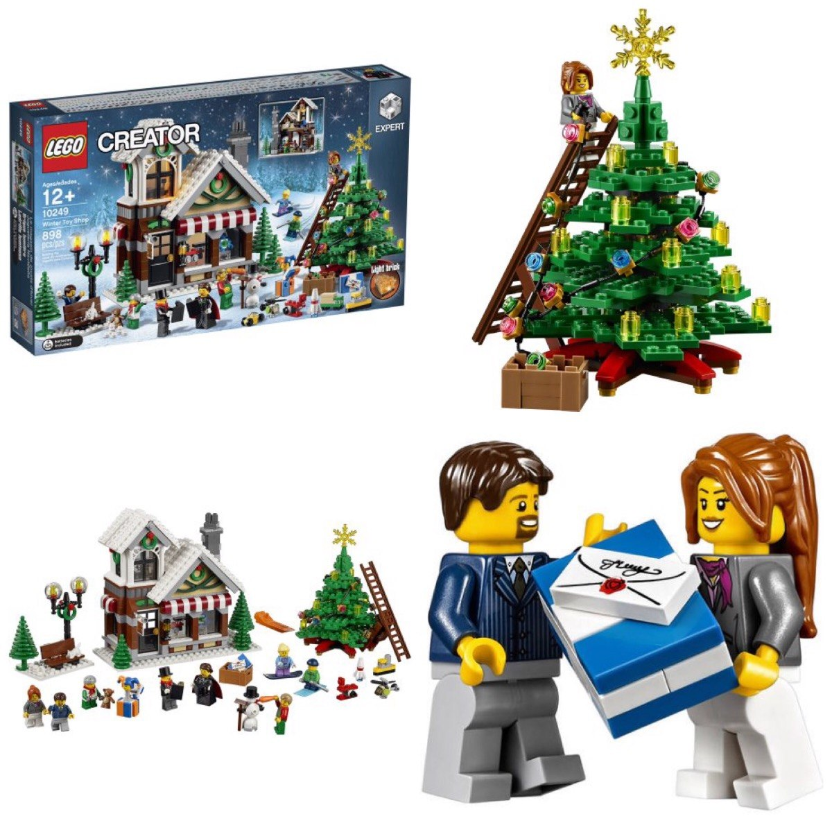 Lego 10249 Exclusive Winter Toy Shop Creator Expert 898 Peas R 83600 Carregando Zoom