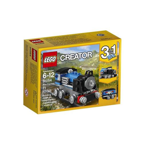 lego creator - expresso azul (3 em 1) - 72 peças