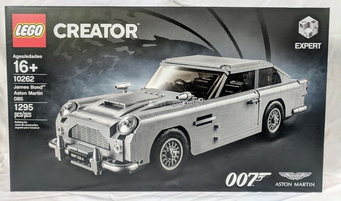Lego Creator James Bond Aston Martin Db5 10262 Nuevo Comple