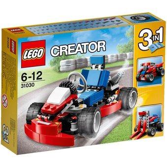 lego creator kart rojo ref: 31030
