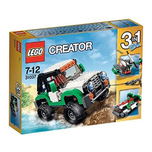 lego creator - veículos de aventura 3 em 1 - lego 31037