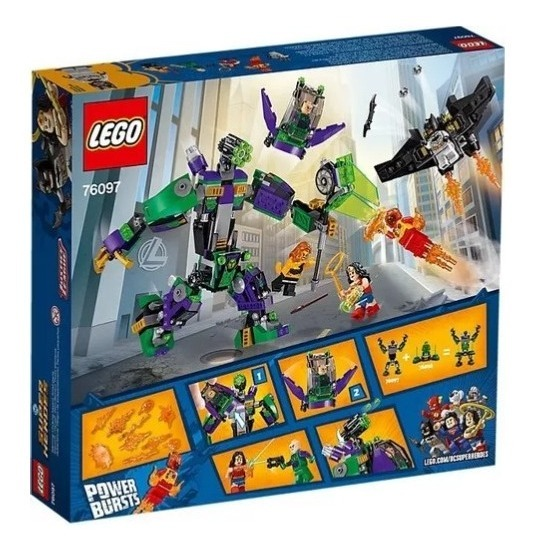 Lego ® Super Heroes ™ personaje Cheetah de 76097 sh460 Batman Lex Luthor estrenar