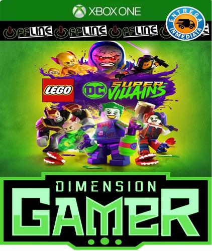 lego dc super villains xbox one no codigo offline