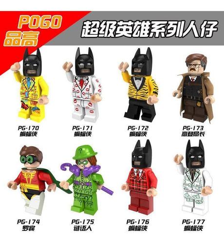 lego de super heroes de batman  y villanos.