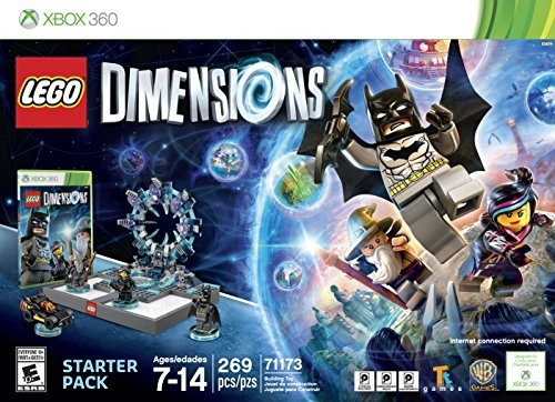 lego dimensiones starter pack - xbox 360