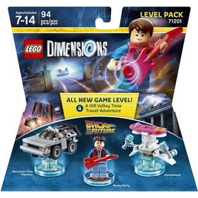 Lego Dimensions - Back To The Future - Level Pack